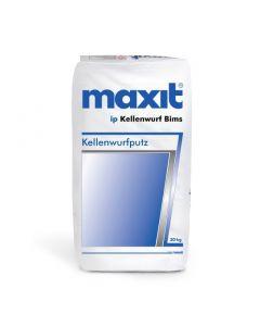 maxit ip Kellenwurf Bims, Körnung: ca. 6 mm