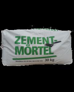 Zementmörtel gestaffelt
